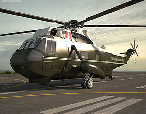 Marine One Sikorsky VH-3D Sea King vh3d