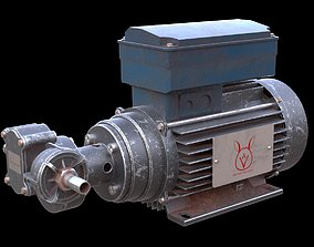 Water Pump PBR Material 3D model