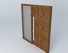 3D Door Entrance Closed