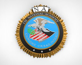 FBI National Academy Seal 3D print model