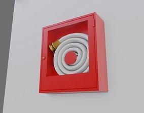 Fire Hose Box - Mangueira de Incendio - Caixa 3D asset
