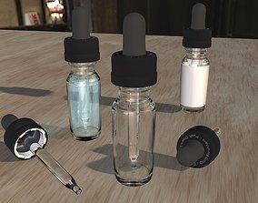 Eye Drop Dropper Vape Bottle 3D model