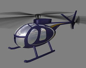 Hughes 500 V5 Helicopter 3D model