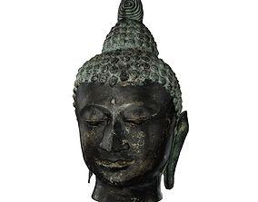 3D asset Buddha Head