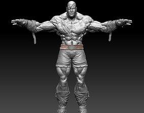 3D Street Fighter Sagat