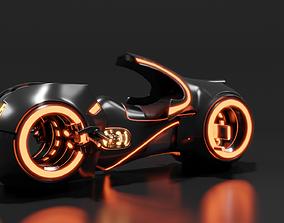 3D Tron Bike