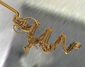 Dragon animal ring 3dm file