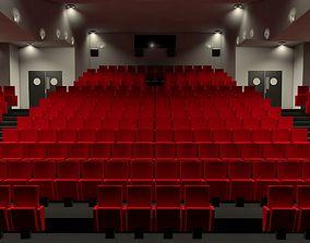 3D Movie theater interior