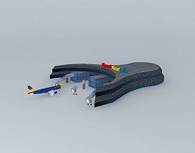 Royal Airways Sydney Hub 3D model