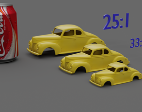 deluxe coupe 1937-1940 3D print model