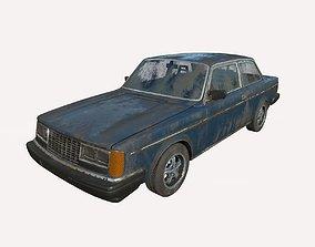 Abandoned Car 58 3D