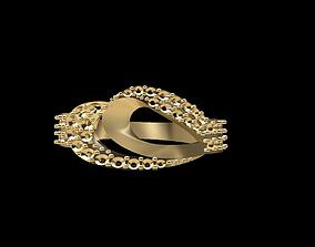 Gold Ring 169 3D print model