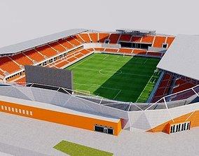 3D asset BBVA Compass Stadium - Houston