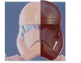 3D printable model Sith Trooper Helmet - Star Wars The 3