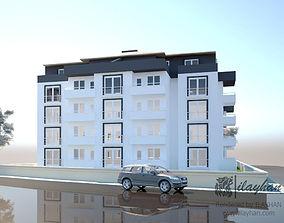 Modern Apartment 3D modeling
