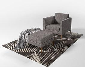 DS 49 chair set 3D