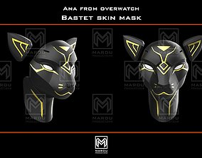Ana Bastet mask f3D printing for cosplay
