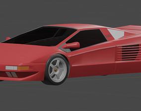 1991 Cizeta Moroder V16T 3D model