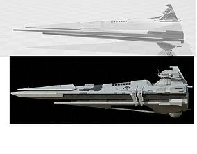 3D printable model Centurion-class Battlecruiser