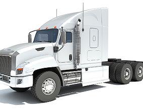 carrier 3D Freightliner Truck