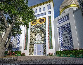 islam mosque 3D model