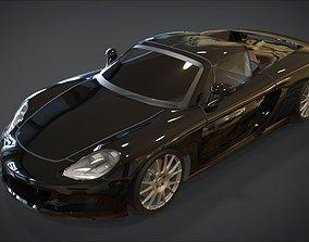 Porsche Carrera GT 3D model game-ready
