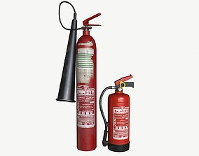 3D asset Building fire equipment