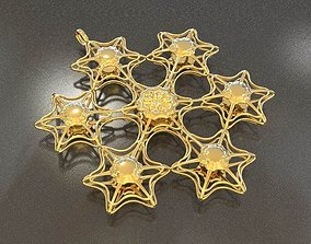 6STARFISH PENDANTS 3D printable model
