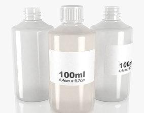 3D model bottle 100ml type9