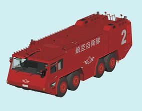 Japan Air Self-Defense Force A-MB-3 Rescue Fire 3D model