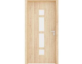 Interior Door 3D model wood