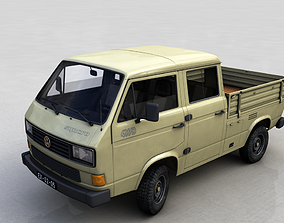 VOLKSWAGEN TRANSPORTER PICKUP DOUBLE CAB SYNCRO 1987 3D