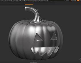 3D print model halloween pumpkin 12