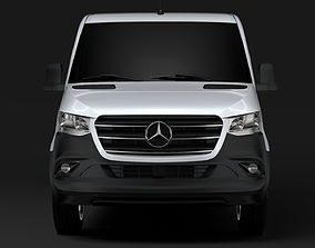 3D model Mercedes Benz Sprinter Panel Van L1H1 FWD 2019