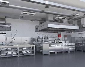 3D Commercial Kitchen v2