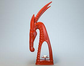 Sculpture Capricorn P 3D print model