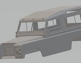 Land Rover Serie 2 Printable Body Car