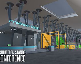 Exhibition stands - conference 3D asset