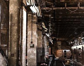 3D Abandoned Subway Station