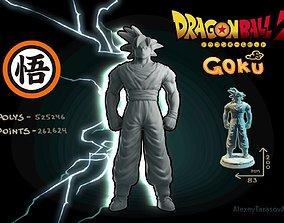 3D printable model Goku Dragon Ball Z