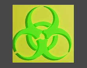 Biohazard Printable Logo
