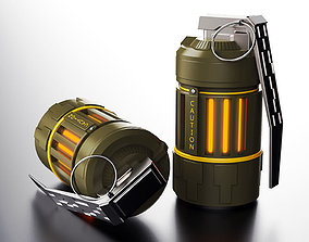 3D Free Grenade