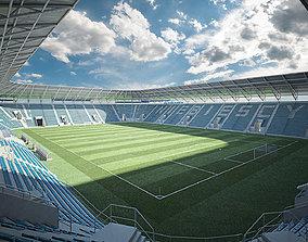 european European Soccer Football Stadium 3D model