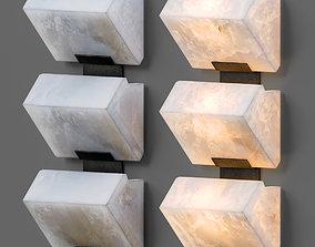 Architectural Pierre Chareau Sconces 3D