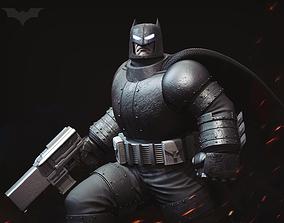 Armored Batman Comic Fan Art - cut 3D printable model