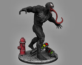 ULTIMATE VENOM 3D Print Figure Diorama