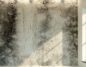 3D asset Concrete wall Old concrete 10