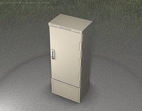 3D model Verteilerschrank 8