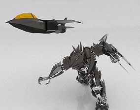 3D Transformers decepticon Eviscerator