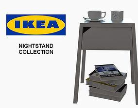 IKEA nightstands collection 3D model